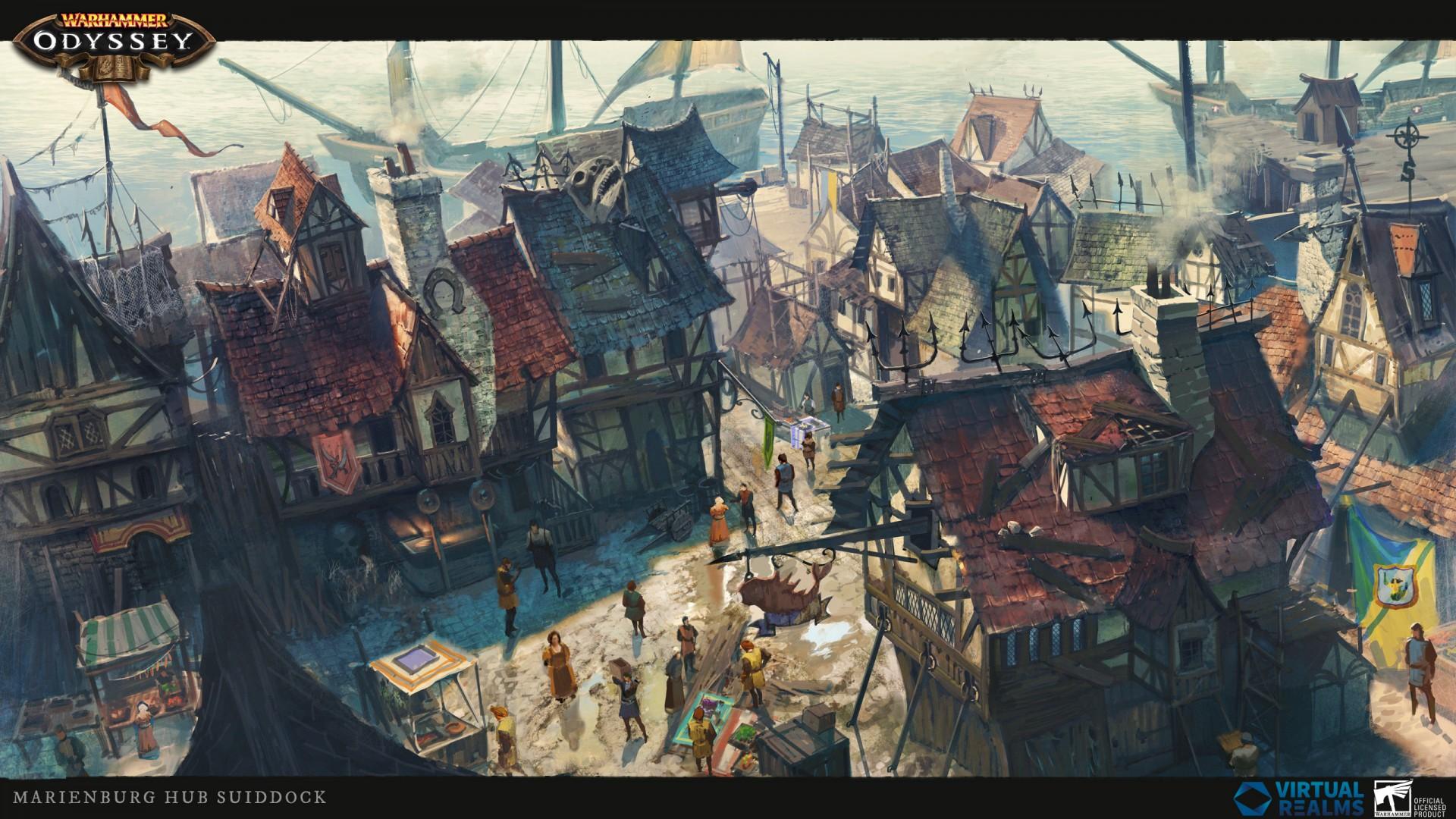 В ролёвке Warhammer: Odyssey показали Мариенбург