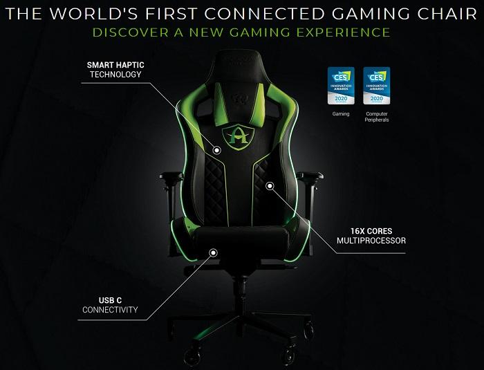 Французский стартап представил игровое кресло с мощным процессором